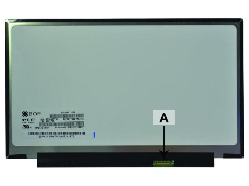 Laptop scherm 00HN830 12.5 inch LED Mat