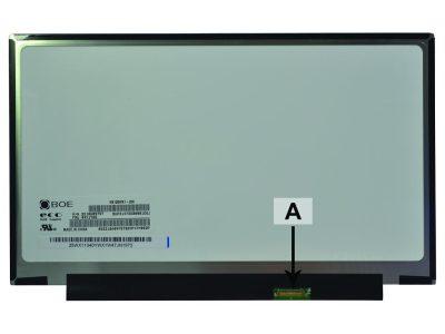 Laptop scherm 00NY414 12.5 inch LED Mat