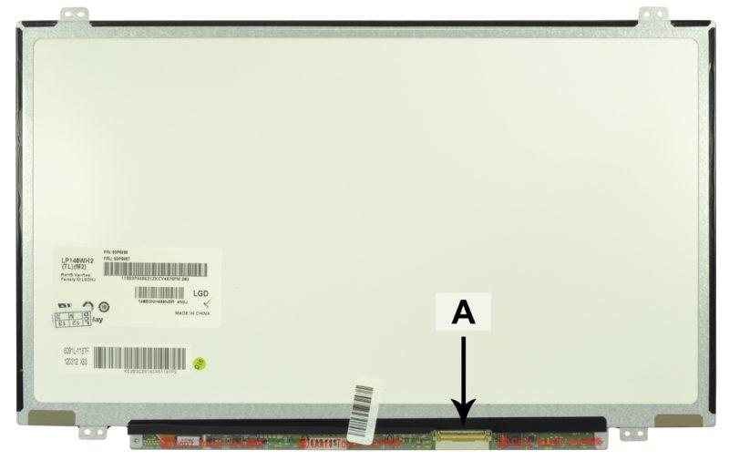 Laptop scherm 04W0476 14.0 inch LED Mat