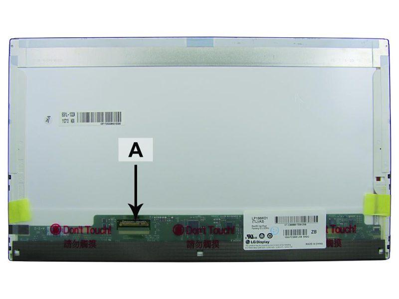 Laptop scherm 04W3346 15.6 inch LED Mat