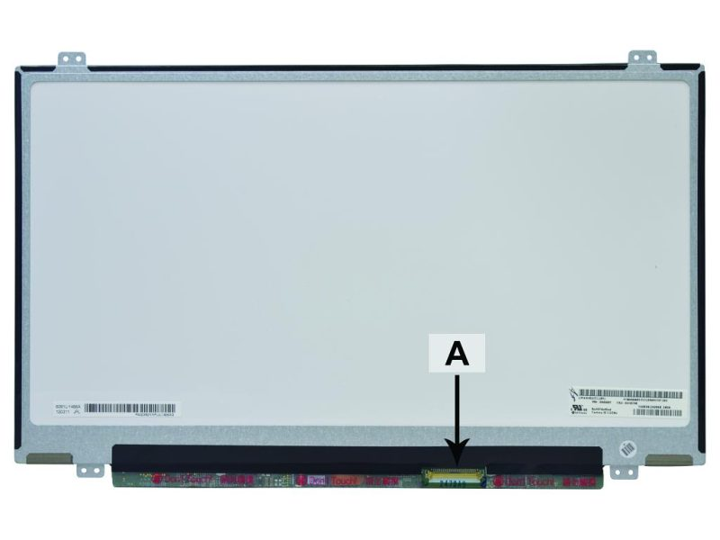 Laptop scherm 04W3921 14.0 inch LED Mat