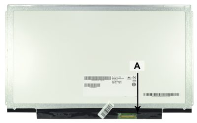 Laptop scherm 04W4003 13.3 inch LED Mat