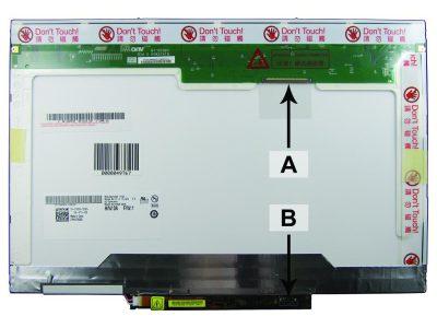 Laptop scherm 0GY219 14.1 inch CCFL1 Mat