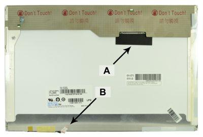 Laptop scherm 0X162G 14.1 inch CCFL1 Mat
