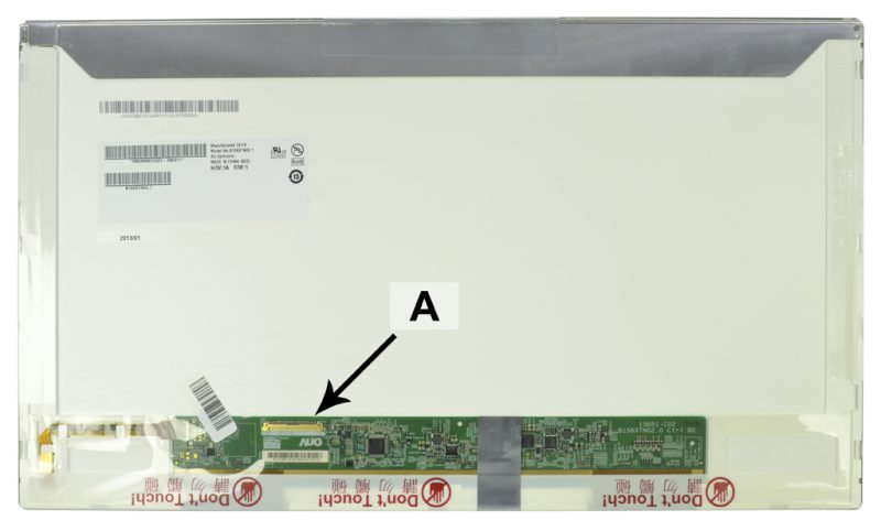 Laptop scherm 18200157 15.6 inch LED Mat