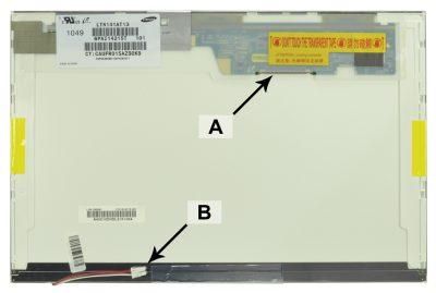 Laptop scherm 27R2459 14.1 inch CCFL1 Mat