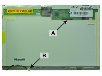Laptop scherm 661-3749 15.2 inch CCFL-1 Mat