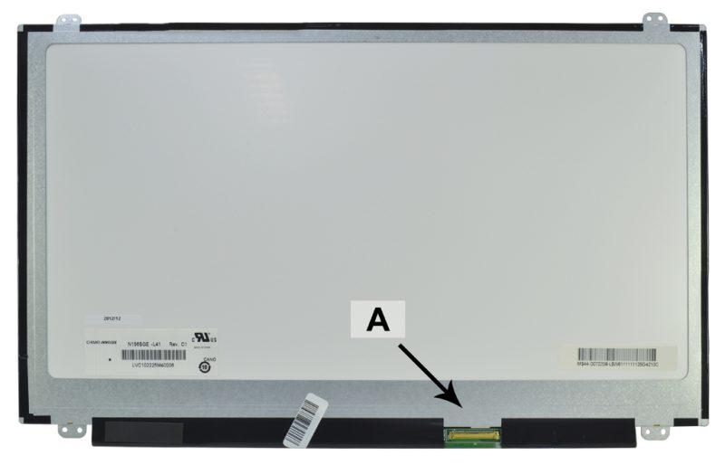 Laptop scherm 7JX0P 15.6 inch LED Glossy