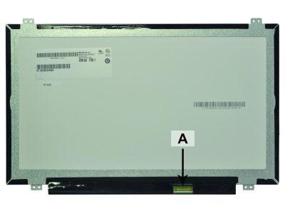 Laptop scherm LP140WF1-SPK1 14.0 inch LED Mat