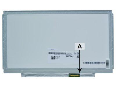 Laptop scherm LT133EE09100 13.3 inch LED Mat