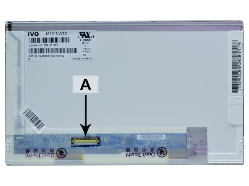 Laptop scherm LTN101NT06-202 10.1 inch LED Glossy