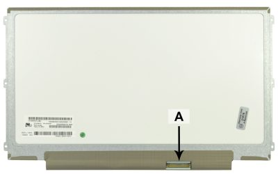 Laptop scherm LTN125AT01-401 12.5 inch LED Mat