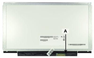 Laptop scherm LTN133AT16-L03 13.3 inch LED Glossy