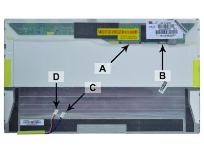 Laptop scherm LTN184HT04-T01 18.4 inch CCFL2 Mat