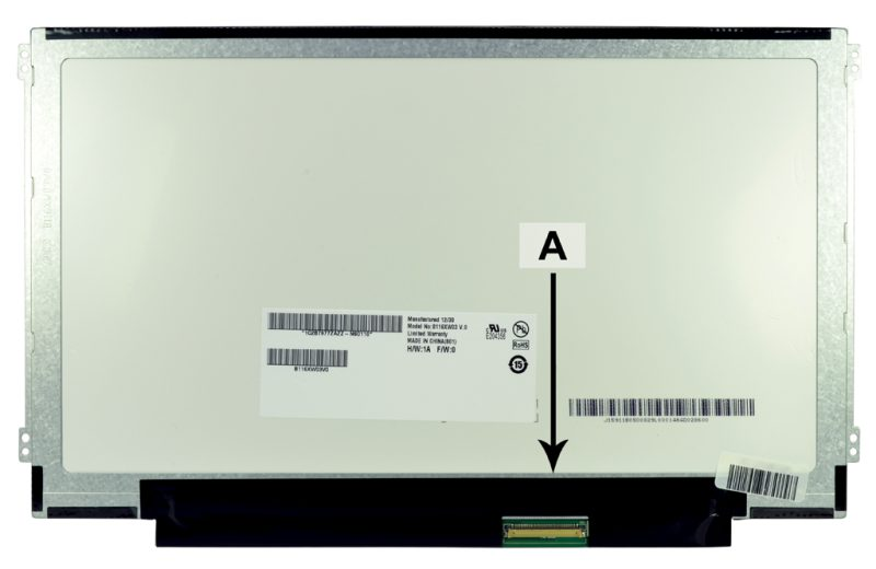 Laptop scherm N116BGE-LB1 11.6 inch LED Glossy