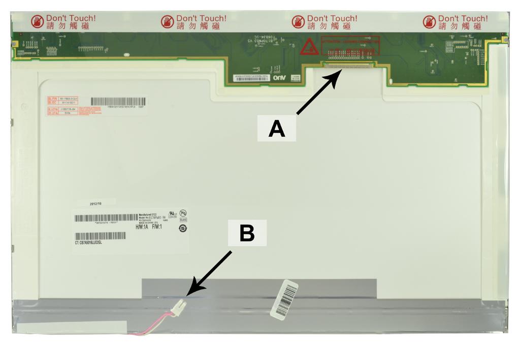 Laptop scherm B170PW01V.1 17.1 inch CCFL1 Glossy