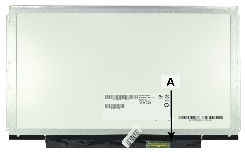 Laptop scherm N133BGE-L31REV.C2 13.3 inch LED Glossy