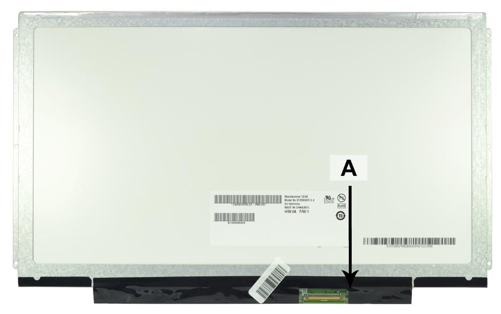 Laptop scherm N133BGE-L31REV.C2 13.3 inch LED Glossy