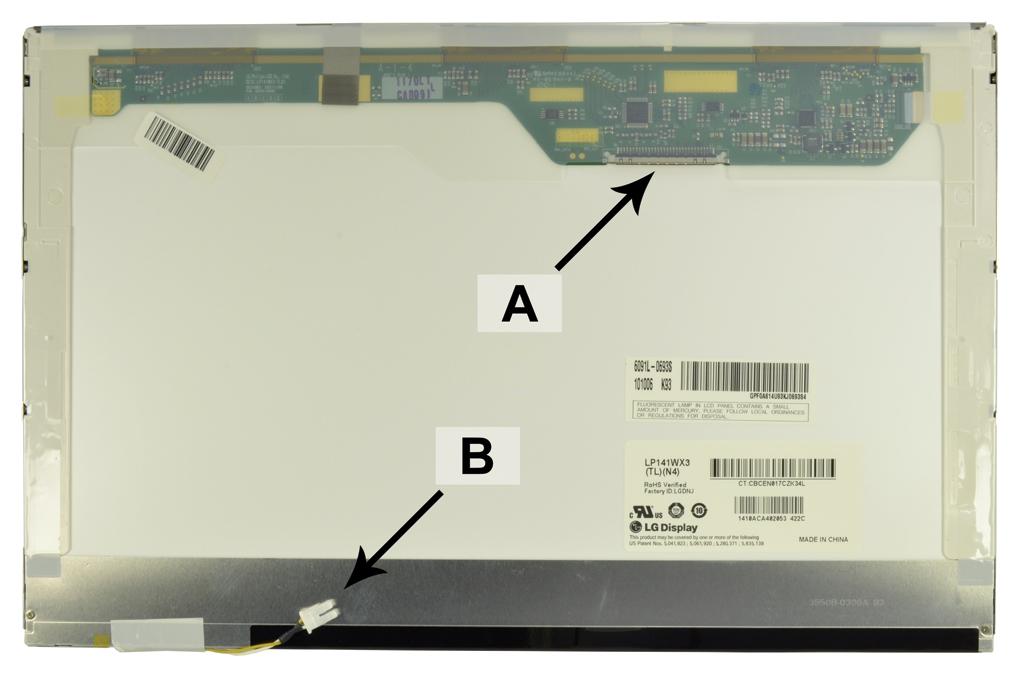 Laptop scherm N141I1-L06REV.C2 14.1 inch CCFL1 Glossy