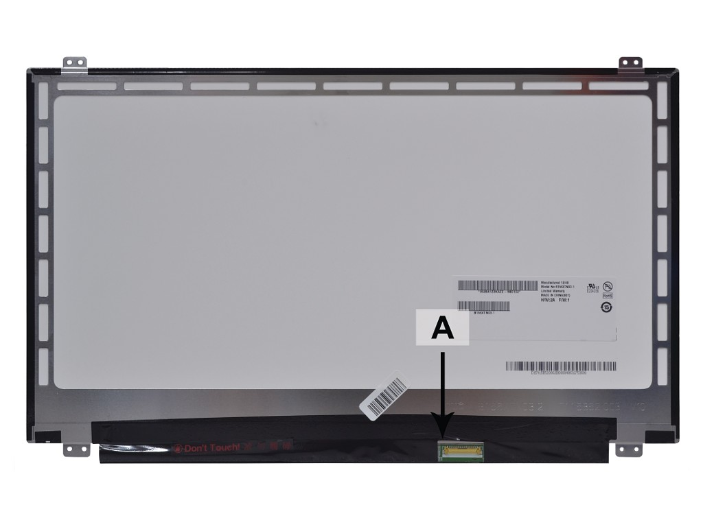 Laptop scherm 00HT624 15.6 inch LED Mat