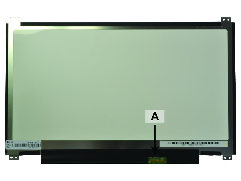 Laptop scherm 01AV672 13.3 inch LED Mat