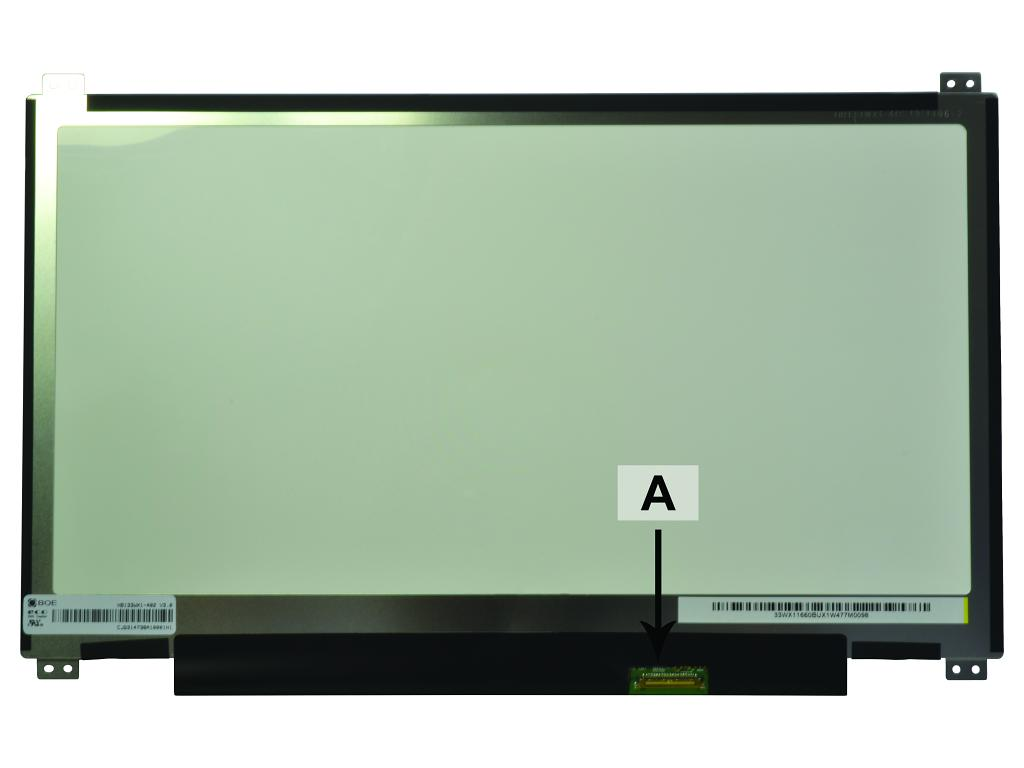 Laptop scherm 01AW150 13.3 inch LED Mat