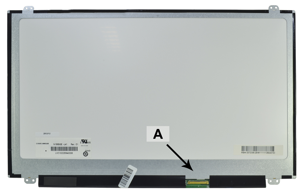 Laptop scherm B156XW04V6 15.6 inch LED Mat