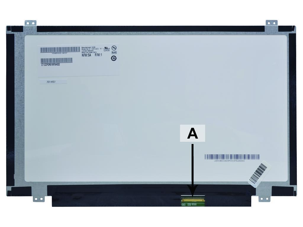 Laptop scherm LP140WH8(TL)(D1) 14.0 inch LED Mat