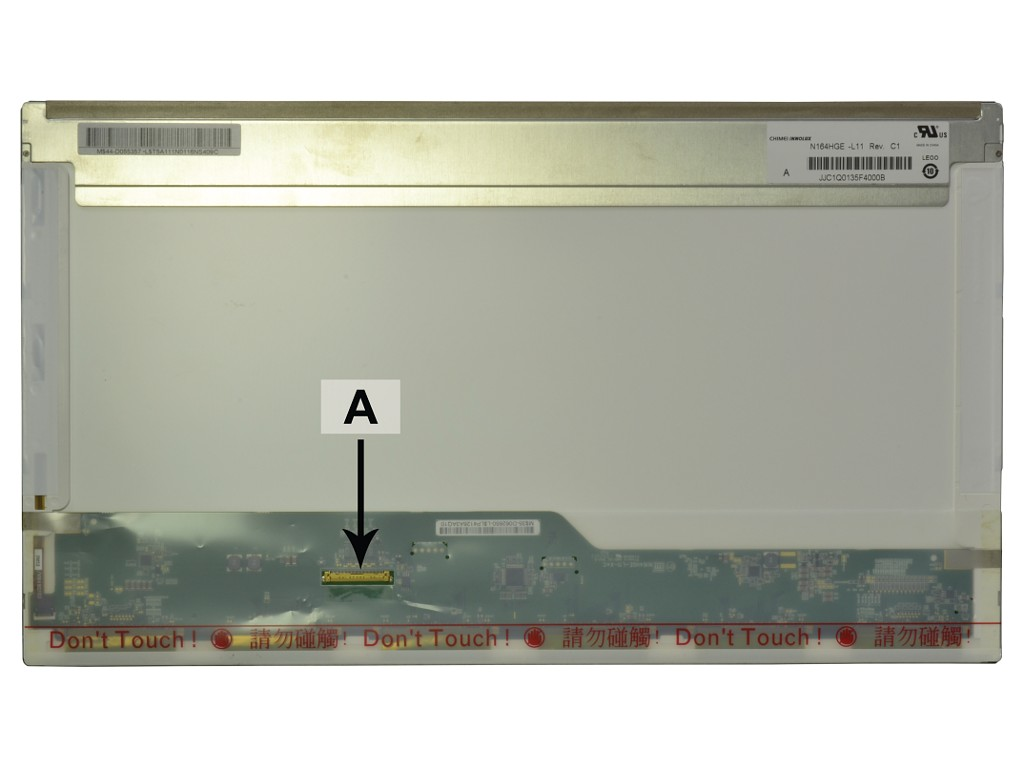 Laptop scherm N164HGE-L11 16.4 inch LED Mat