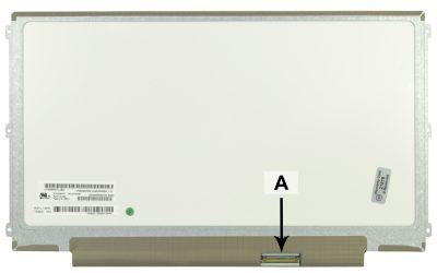 Laptop scherm LTN125AT01-201 12.5 inch LED Mat