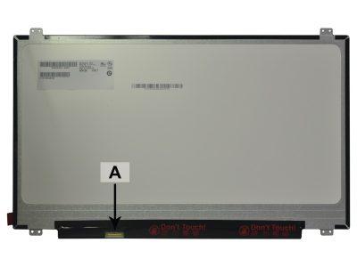 Laptop scherm NT173WDM-N11 17.3 inch LED Mat
