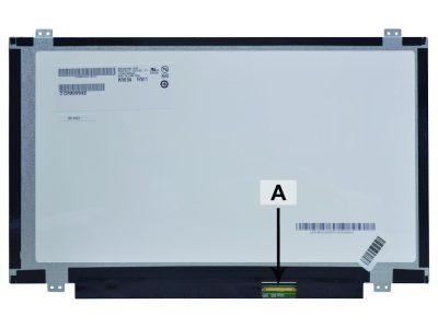 Laptop scherm NT140WHM-N47 14.0 inch LED Mat